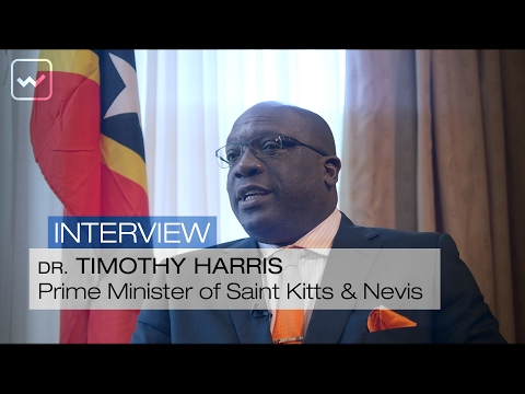 Dr. Timothy Harris, Prime Minister of Saint Kitts & Nevis - World Investment Interviews