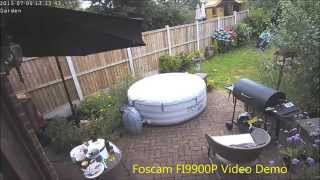Foscam FI9900P Day & Night Video Demo
