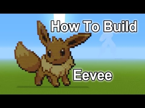 Minecraft Tutorial Eevee Pokemon