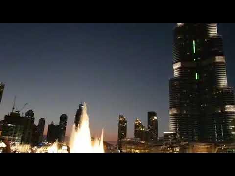 Anil chohala in dubai world talkest building burj khalifa