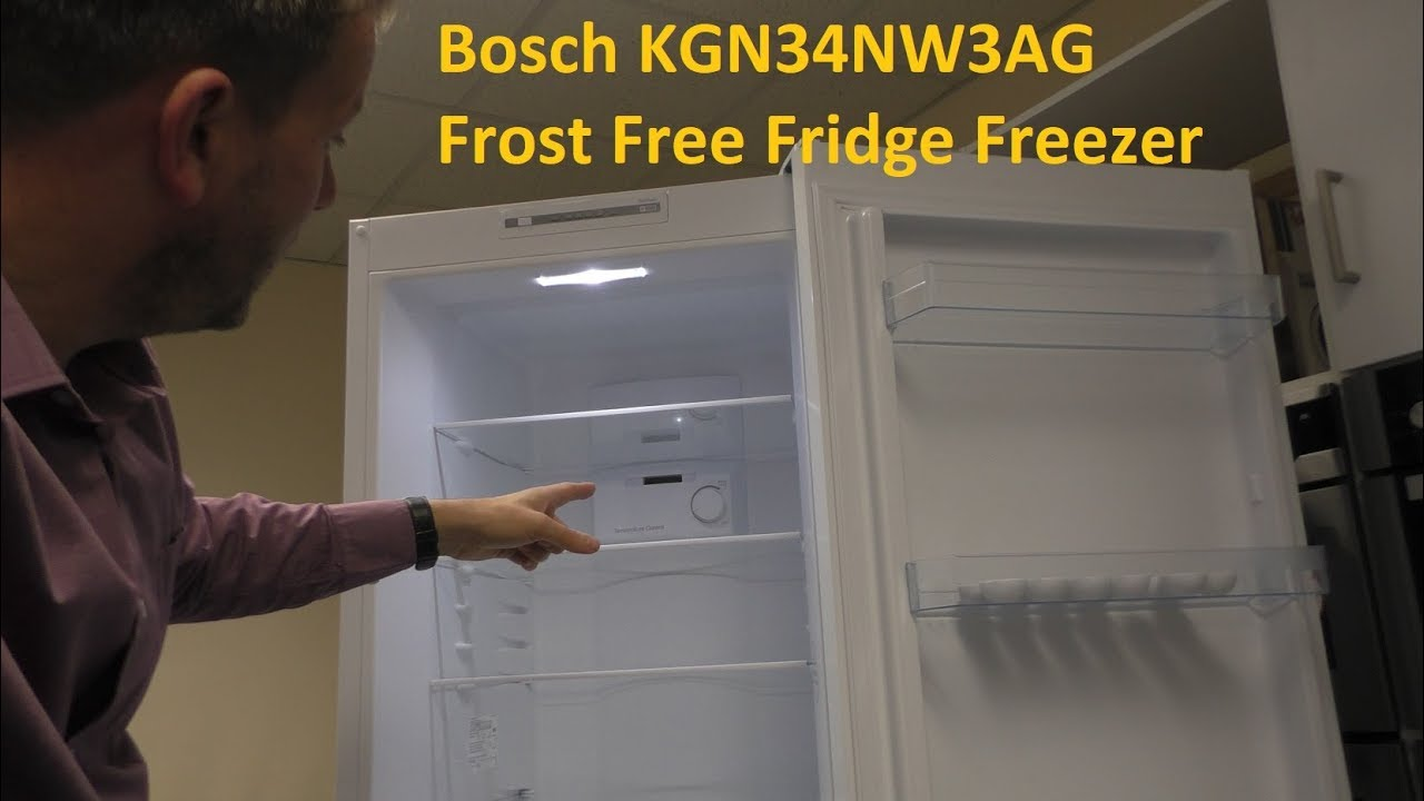 Bosch Kgn34nw3ag Fridge Freezer Youtube