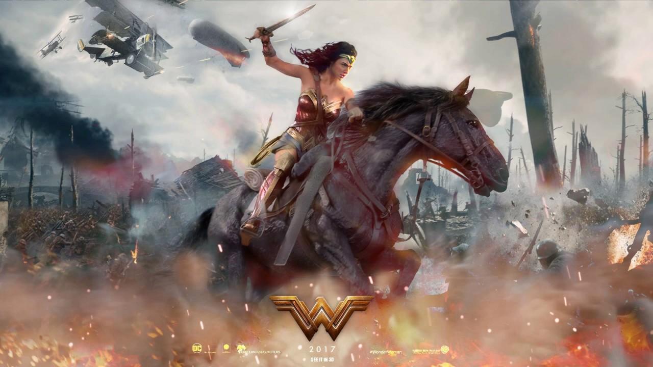 Wonder Woman 2017 Wallpaper Full Hd Free Download: Soundtrack Wonder Woman (Theme Song