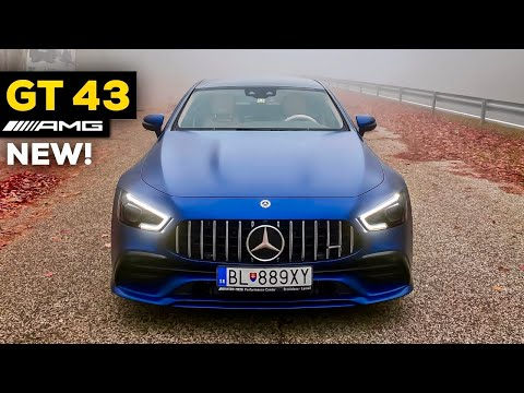 2020 MERCEDES AMG GT 4 Door Coupe NEW GT43 vs GT63 S FULL DRIVE POV Highway Review BRUTAL Exhaust