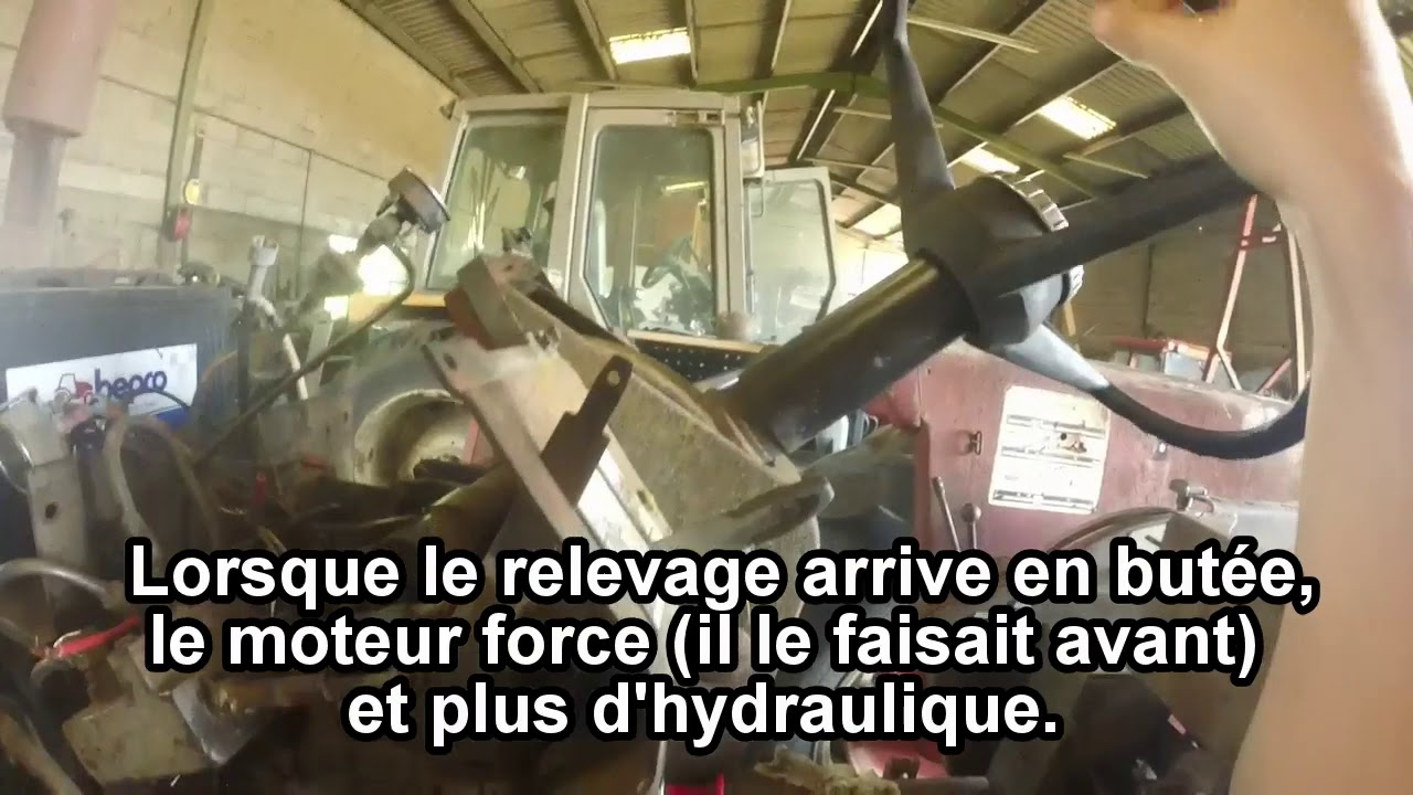 Massey Ferguson 1100 hydraulic difficulties