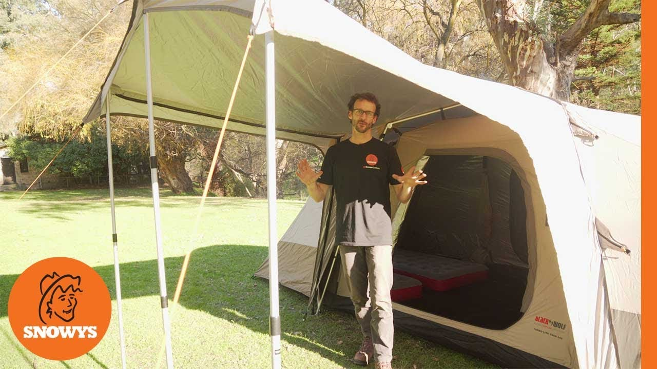 Black Wolf Turbo Lite Twin 240 Tent Features Youtube