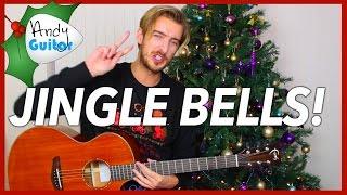 Christmas song #2 Jingle Bells Guitar Tutorial for Beginners