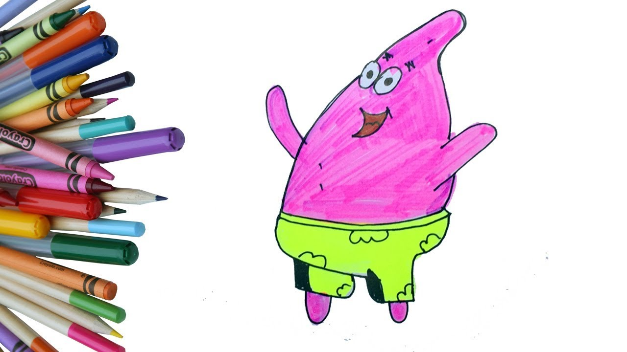 How To Draw Funny Cartoon Character Cartoon Character Drawing