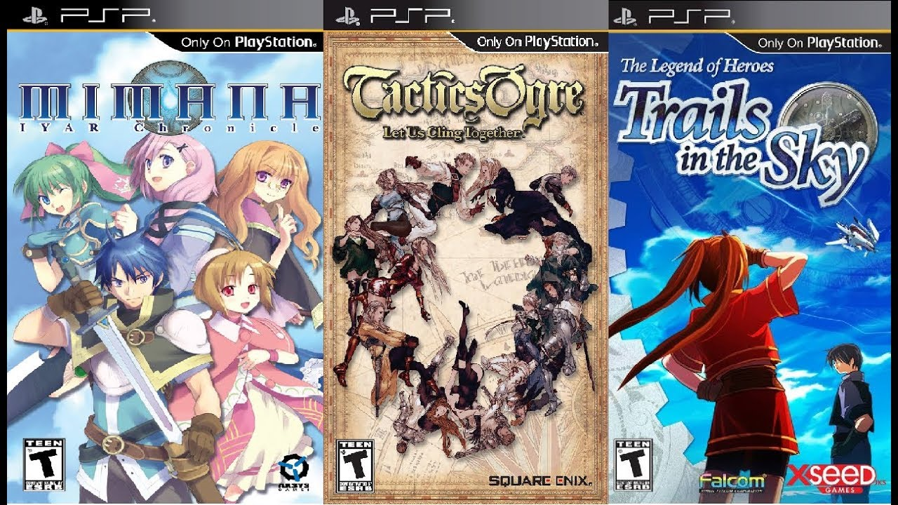 psp top 10 games