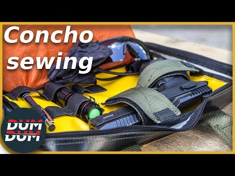 Opis torbe za pištolj Concho Sewing (pistol range bag review)