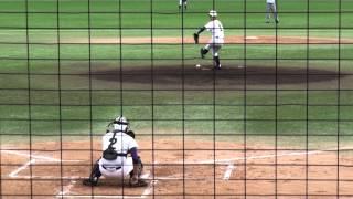 東福岡高 ヒンブル ローレンス 選手 投球練習 thumbnail