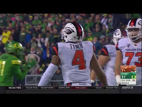Oregon Ducks vs. Oregon State Beavers- Ducks Highlights 11/25/17