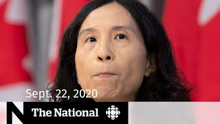 CBC News: The National | Sept. 22, 2020 | Grim COVID-19 outlook; Throne speech expectations