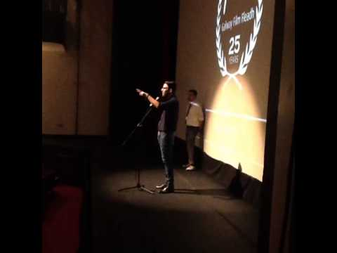 zachary quinto in Galway Film Fleadh