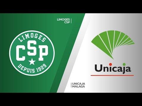 Limoges CSP - Unicaja Malaga Highlights | 7DAYS EuroCup, T16 Round 4