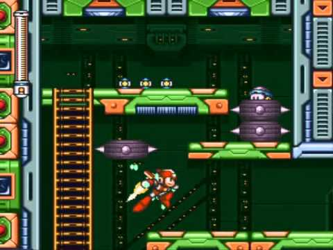 Mega Man 7 - Wily's Fortress : Stage 2