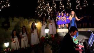 REBECCA LÓPEZ - WHEN YOU BELIEVE - CONCIERTO DE NAVIDAD CHILE 2012