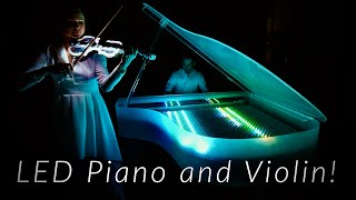 Luminescent Grand - Lumos - LED Piano and Violin Duet