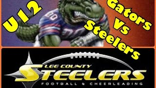 U12 Gators Vs Steelers