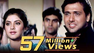 vuclip Tere Mere Pyar Mein | Full 4K Video Love Song | Govinda | Divya Bharati - Shola Aur Shabnam