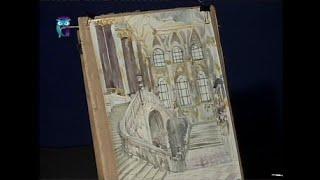 Уроки рисования (№ 81) акварелью. Учимся рисовать перспективу Посольской лестницы Эрмитажа