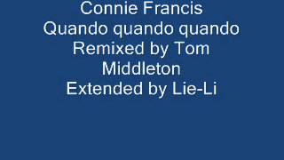 Connie Francis Quando quando quando Remixed & Extended
