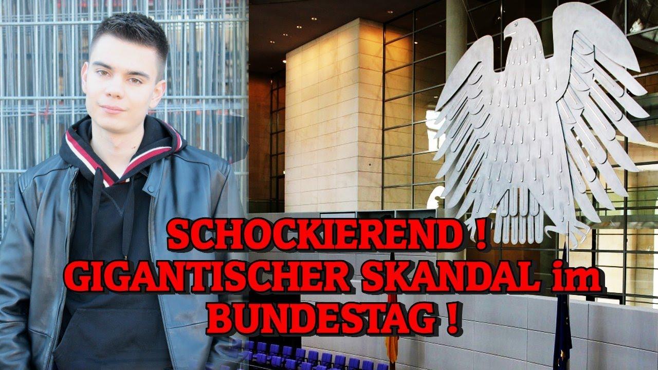 SCHOCKIEREND! GIGANTISCHER SKANDAL im BUNDESTAG!