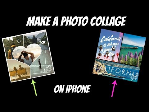 How to make a Photo Collage on iphone for Free(2017)