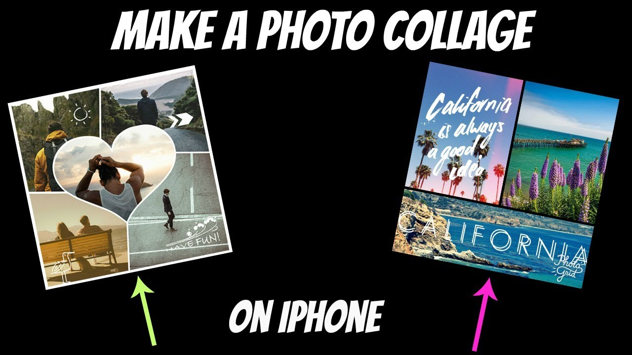 Collage Fotos How To Make A Photo Collage On Iphone For Free 2017
