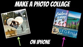 How to make a Photo Collage on iphone for Free