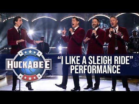 "Ernie Haase And Signature Sound Perform ""I Like A Sleigh Ride"" | ATS | Huckabee"