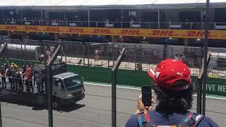 GP Brazil F1 2017 Interlagos - Desfile dos pilotos antes da corrida - Setor M