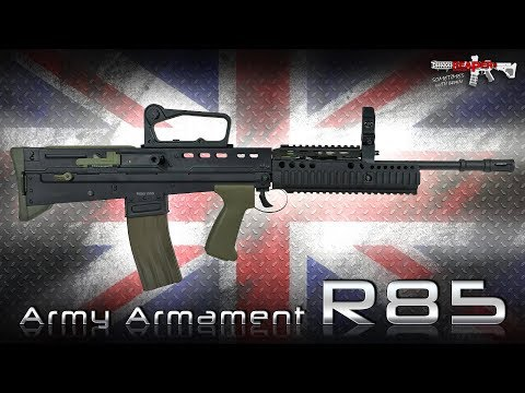 [Review] Army Armament R85 (L85A1) Inkl. Tuning - 6mm S-AEG - Airsoft/Softair (German,DE)