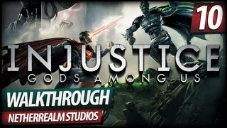 Injustice: Gods Among Us Gameplay Story Walkthrough - Chapter 10 | Flash (Very Hard)