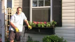 Part 4 - The Window Box Guy™, (732) 701-7561, Hot Mulch Tip, Window Boxes, Window Planters