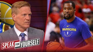 Ric Bucher reacts to the Golden State Warriors retiring KD's jersey | NBA | SPEAK FOR YOURSELF
