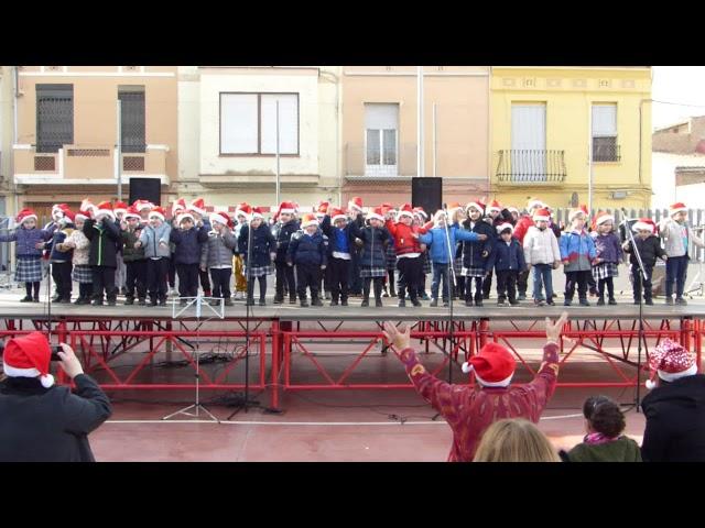 Festival Nadal 2017-18 - Infantil 3, 4 i 5 anys - Merry Christmas Song for Kids