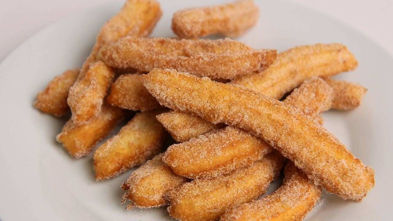 Homemade Churros Recipe - Laura Vitale - Laura in the ...
