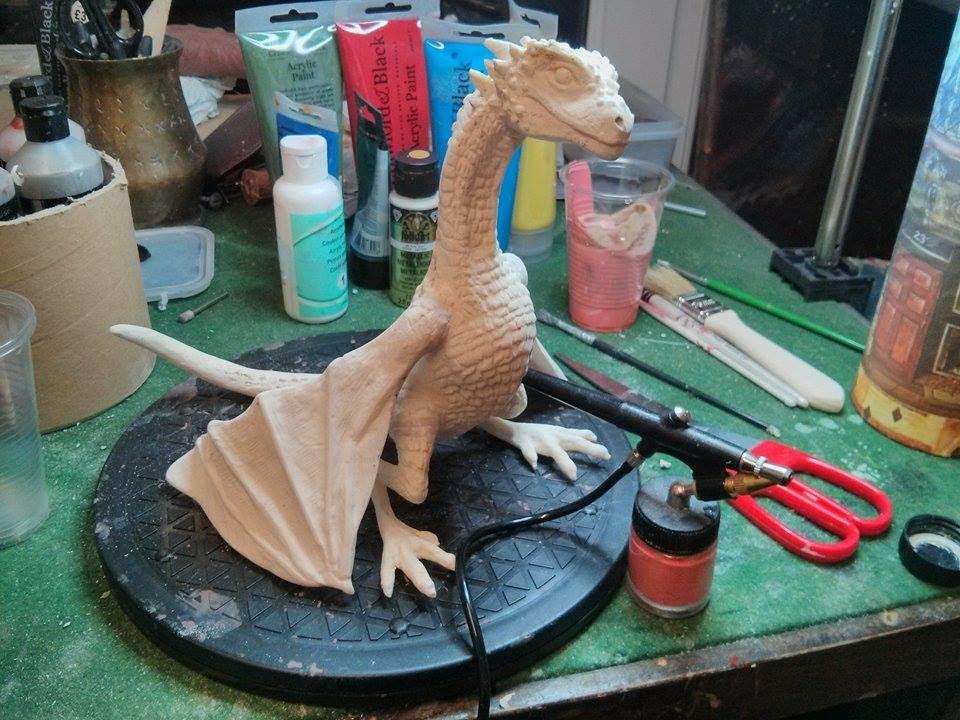 Dragon Mould Making - Timelapse