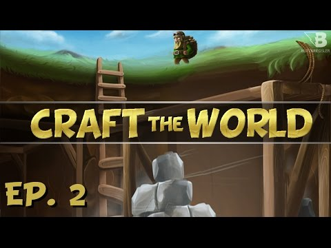 Basic Equipment! - Ep. 2 - Craft The World - Let's Play