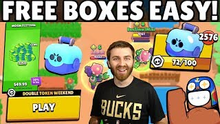 GET FREE BRAWL BOXES TWICE AS FAST u0026 NEW GEM OFFER! FIRST EVER DOUBLE TOKEN EVENT!