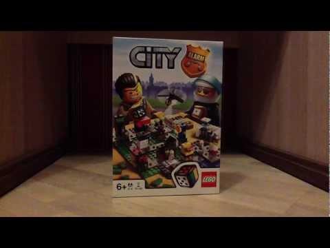 Обзор настольной игры лего Сити
