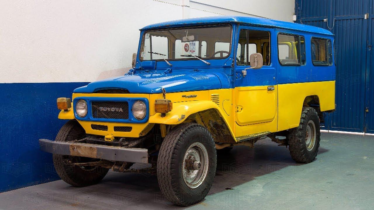Rare 1981 Toyota Land Cruiser FJ45 3F Full Frame-Off Restoration Project