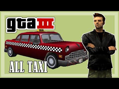 GTA 3 - All Taxi Missions