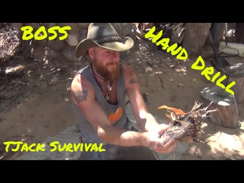 Hand drill like a BOSS with Matt from the Boulder Outdoor Survival School