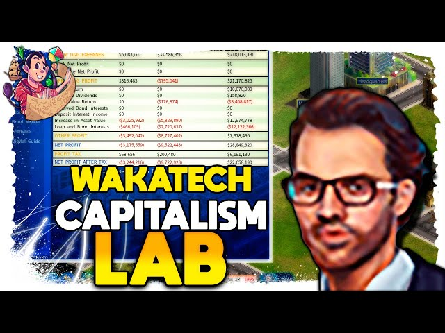 Puxando os LIMITES! | Capitalism Lab Wakatech (2021) #08 - Gameplay PT BR