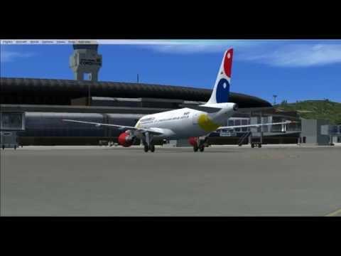 New FSX: A320 VivaColombia SKSP - SKRG
