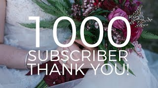 Video 1000 Subscribers! Thank You Video! download MP3, 3GP, MP4, WEBM, AVI, FLV November 2017