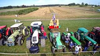 Rajd traktorów Pław/ tractor race DRON DLA CIEBIE