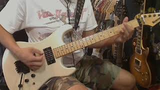Panama guitar cover / Van Halen