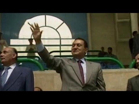 Умер бывший президент Египта Хосни Мубарак.